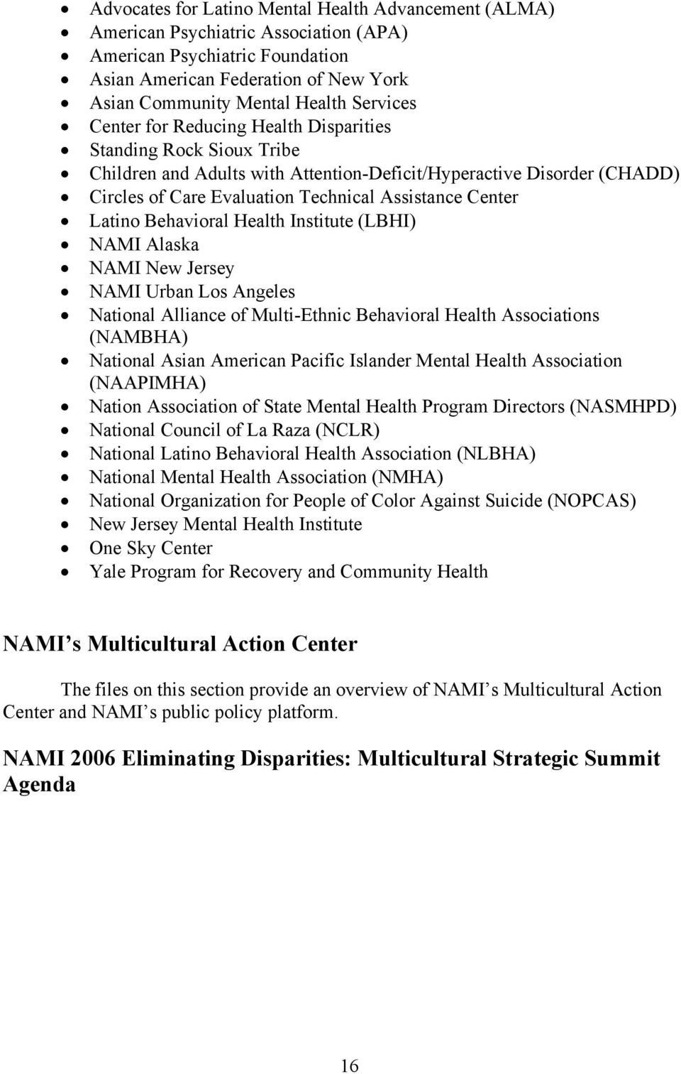 Eliminating Disparities In Mental Health An Overview Pdf