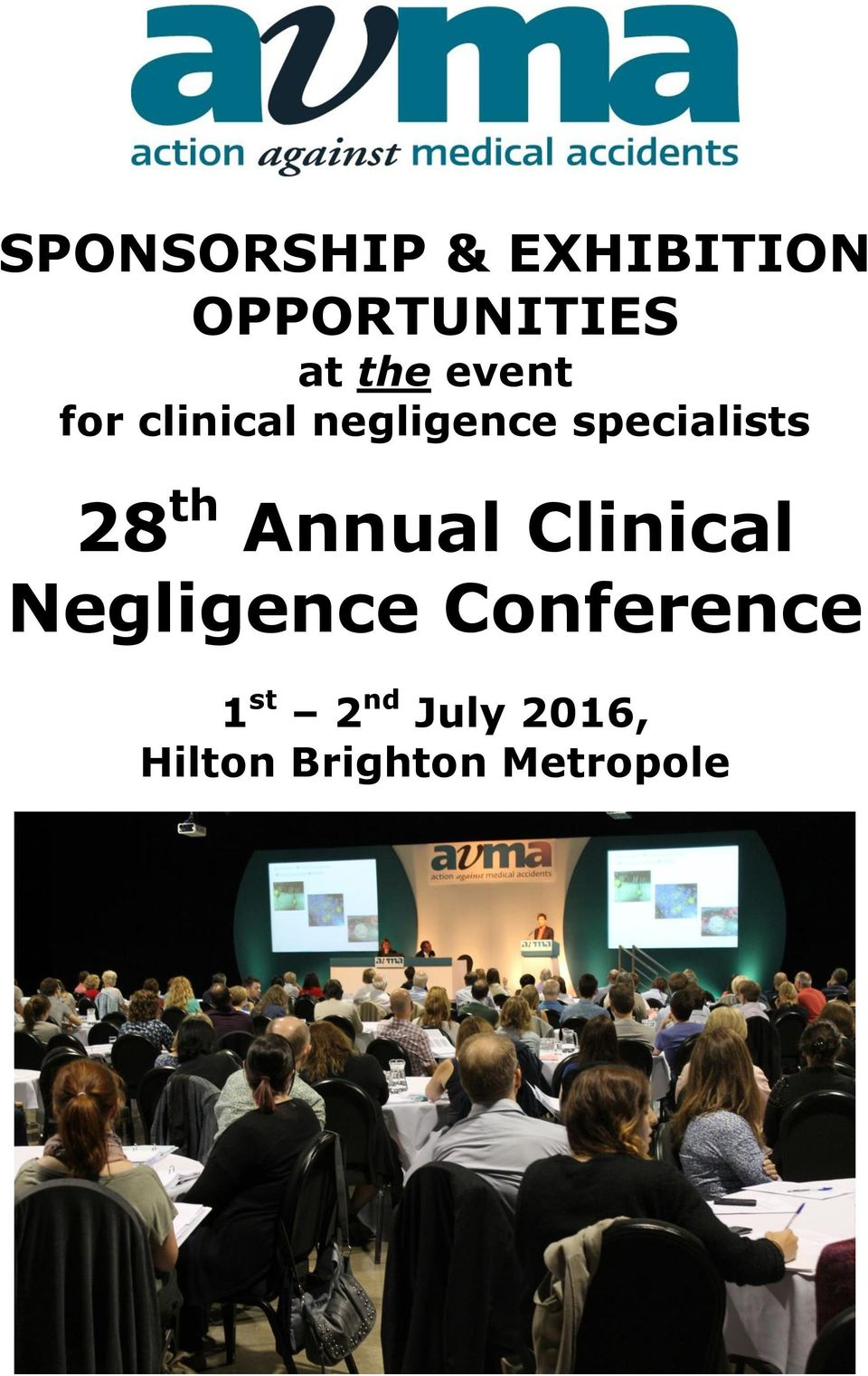 specialists 28 th Annual Clinical Negligence
