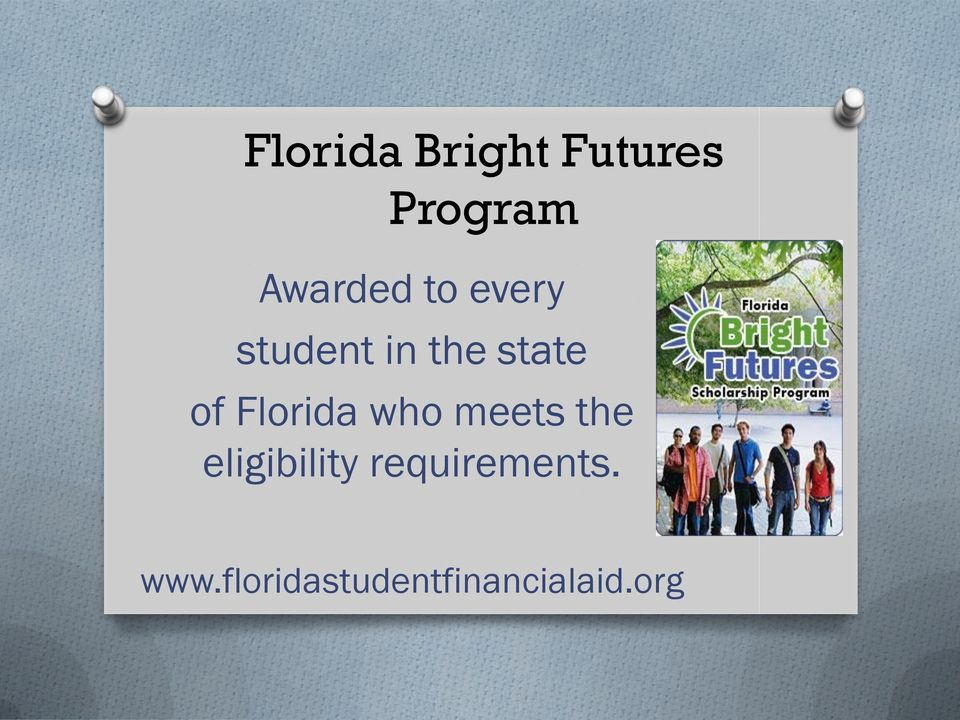 Florida who meets the eligibility