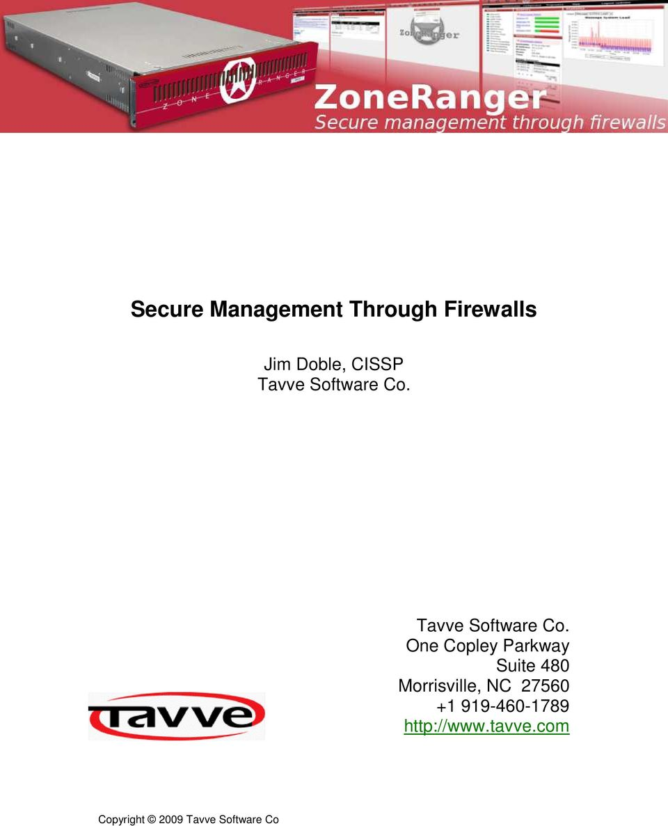 Tavve Software Co.
