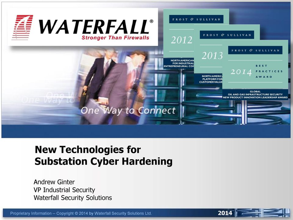 Security Waterfall Security Solutions Proprietary