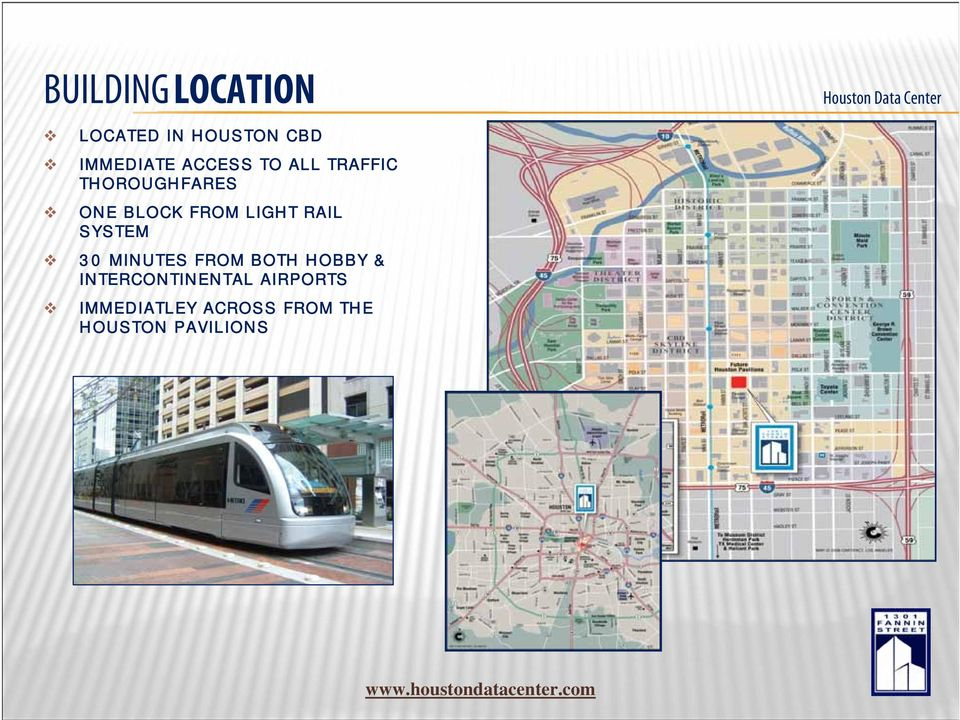 LIGHT RAIL SYSTEM 30 MINUTES FROM BOTH HOBBY &