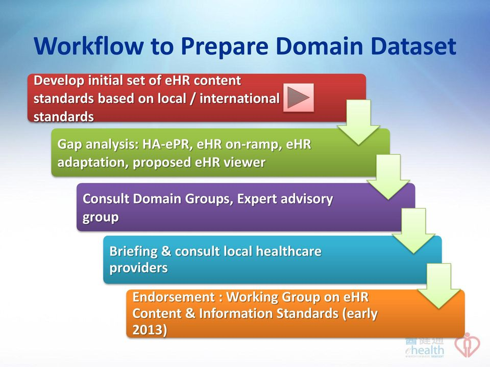 proposed ehr viewer Consult Domain Groups, Expert advisory group Briefing & consult local