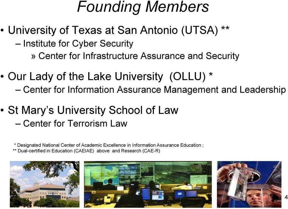 Management and Leadership St Mary s University School of Law Center for Terrorism Law * Designated National Center