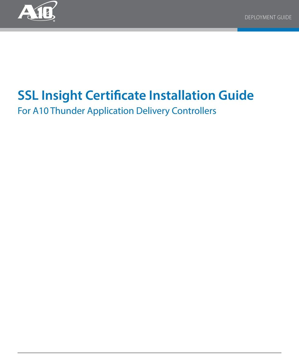 ssl ca certificate installation guide Cisco telepresence content server release 6x public ssl certificate installation guide  step 1 request an ssl certificate from a certificate authority (ca.