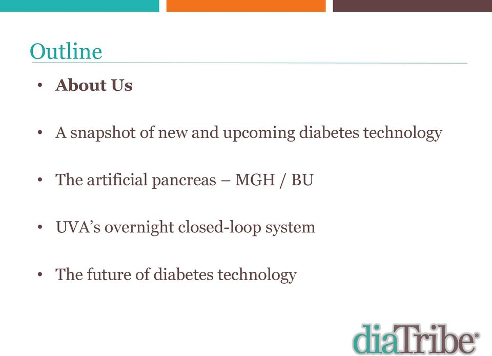 artificial pancreas MGH / BU UVA s