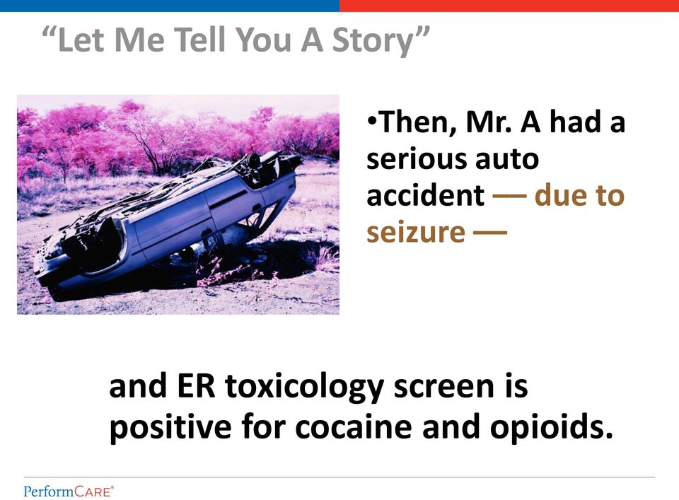 to seizure and ER toxicology