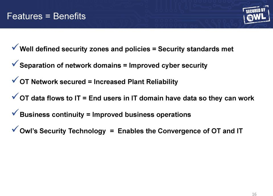 flows to IT = End users Product in IT domain Suite have data so they can work Solutions Deployed Business