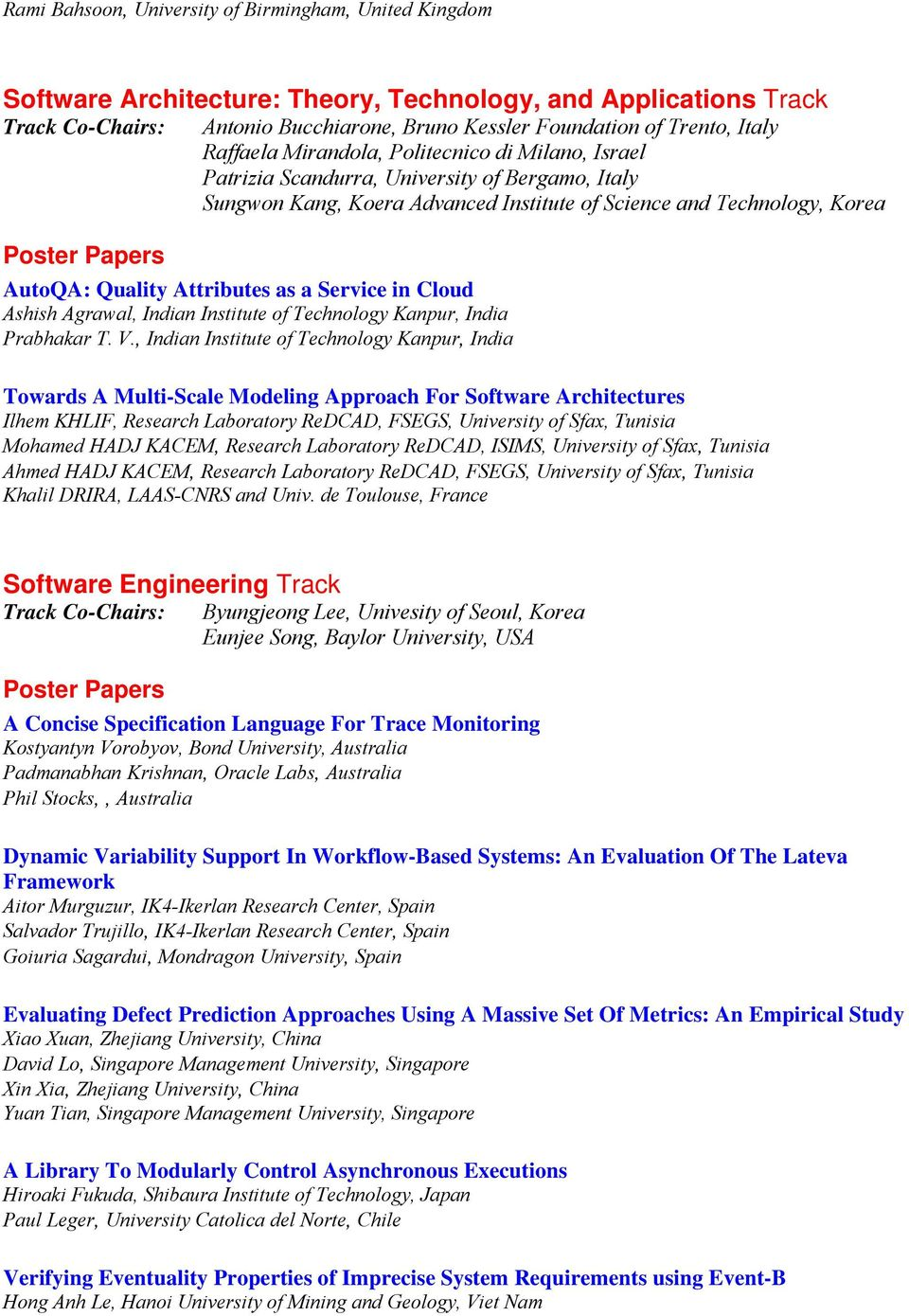 Attributes as a Service in Cloud Ashish Agrawal, Indian Institute of Technology Kanpur, India Prabhakar T. V.