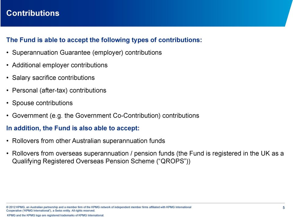 The Executive Superannuation Fund - PDF