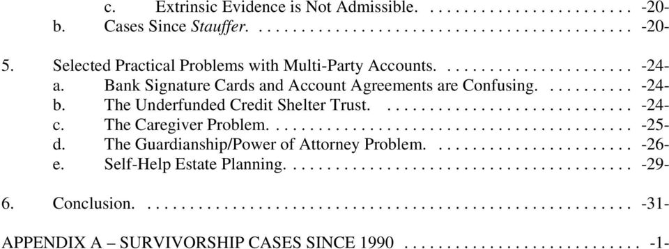 Multi Party Accounts And Other Non Probate Assets In Texas Pdf