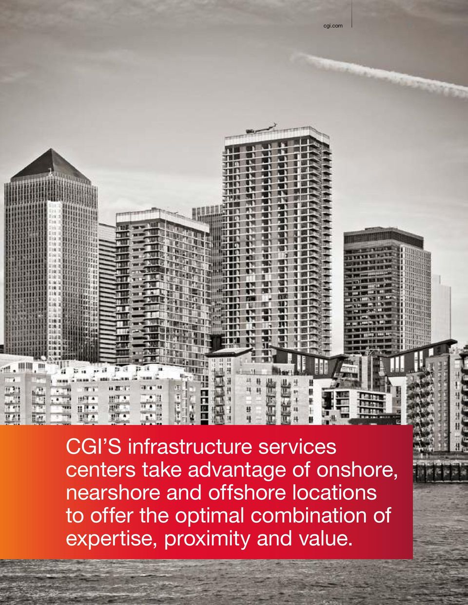 nearshore and offshore locations to offer