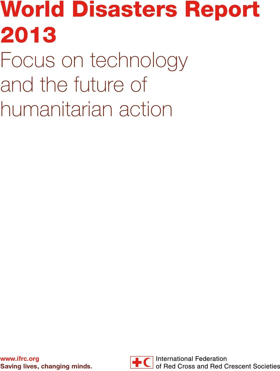future of humanitarian action