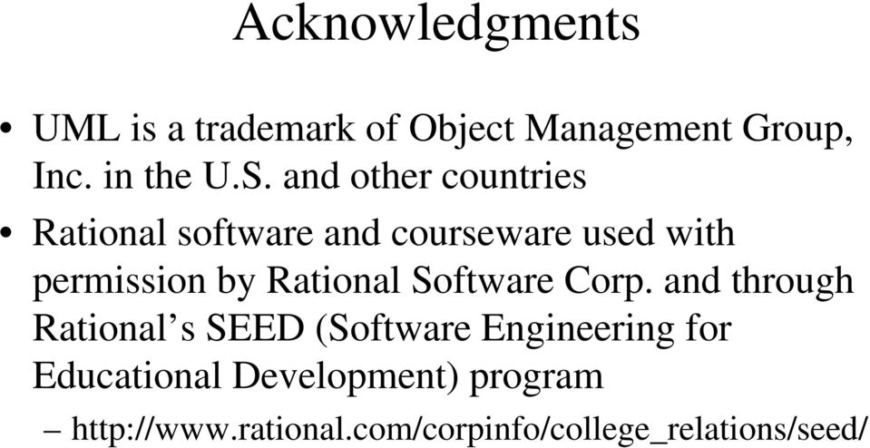 Rational Software Corp.