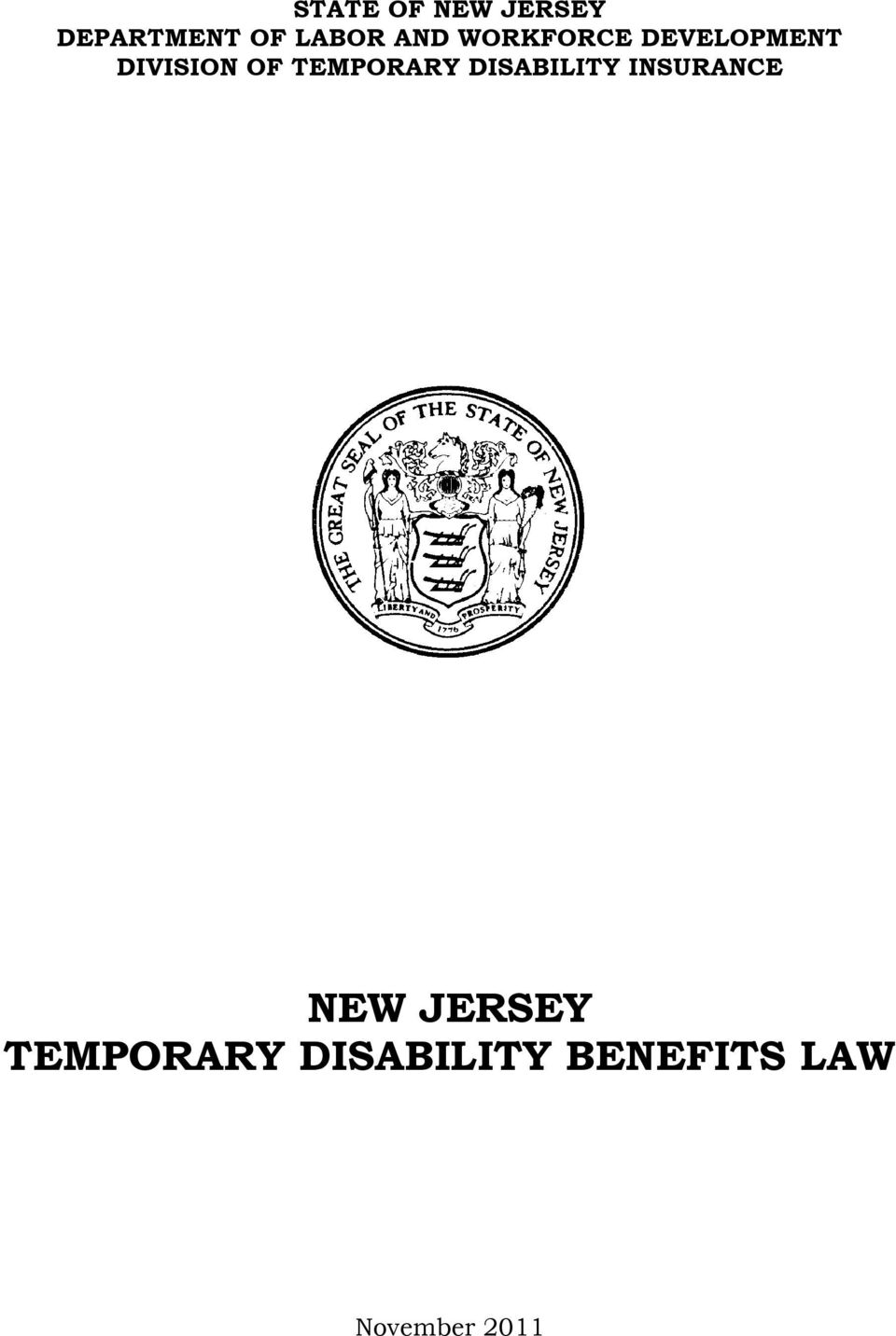 TEMPORARY DISABILITY INSURANCE NEW JERSEY