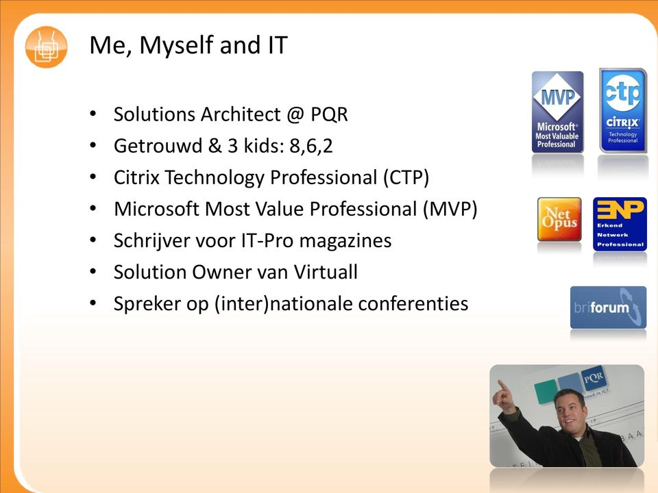 Most Value Professional (MVP) Schrijver voor IT-Pro magazines