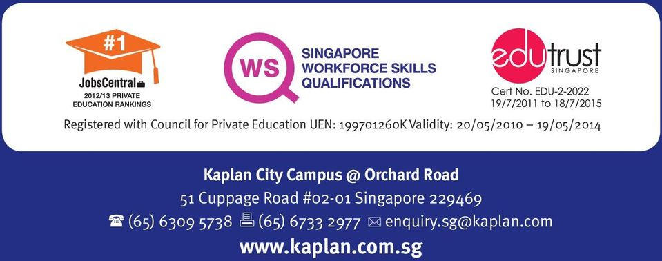Campus @ Orchard Road 51 Cuppage Road #02-01 Singapore