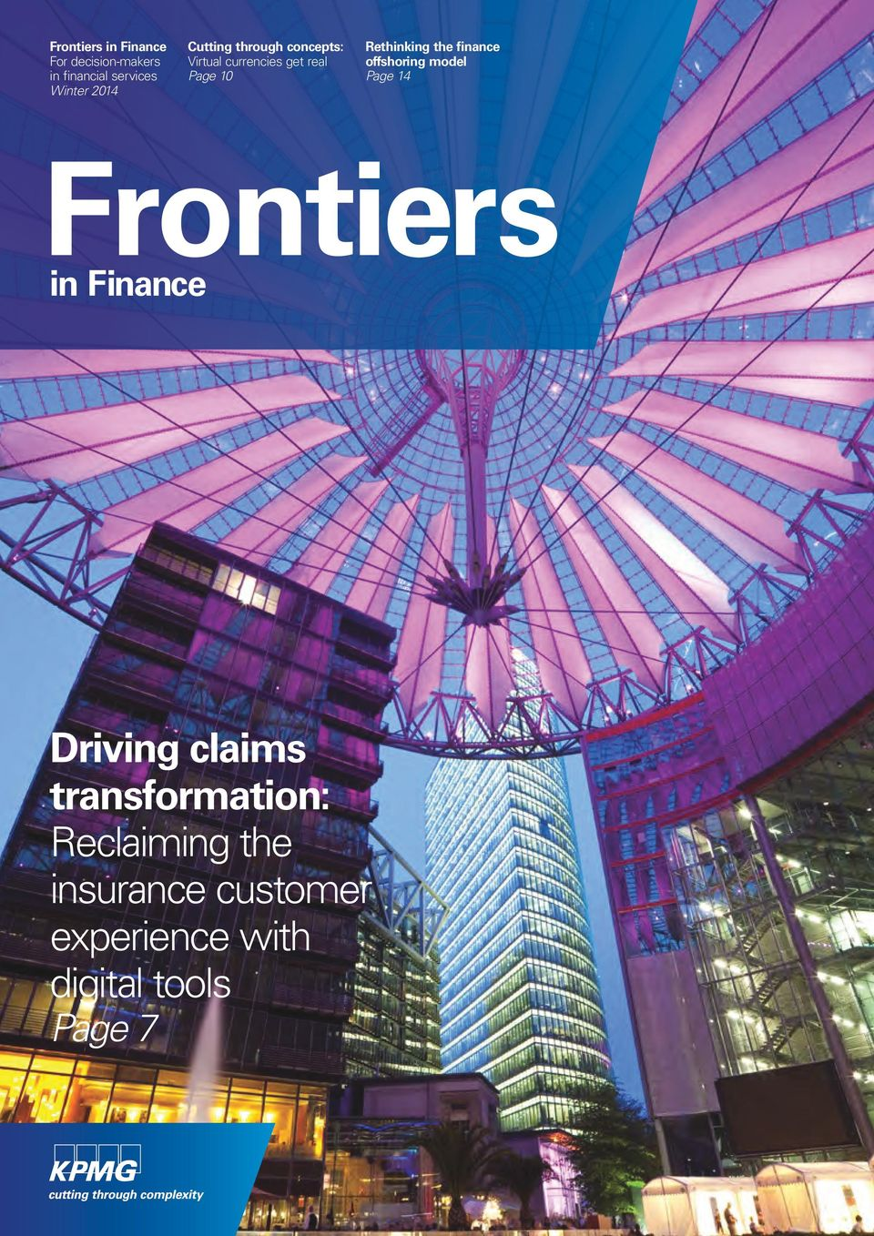 finance offshoring model Page 14 Frontiers in Finance Driving claims
