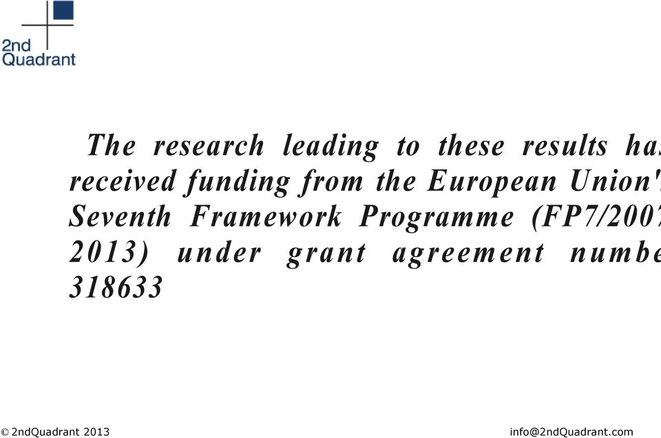 Union's Seventh Framework Programme