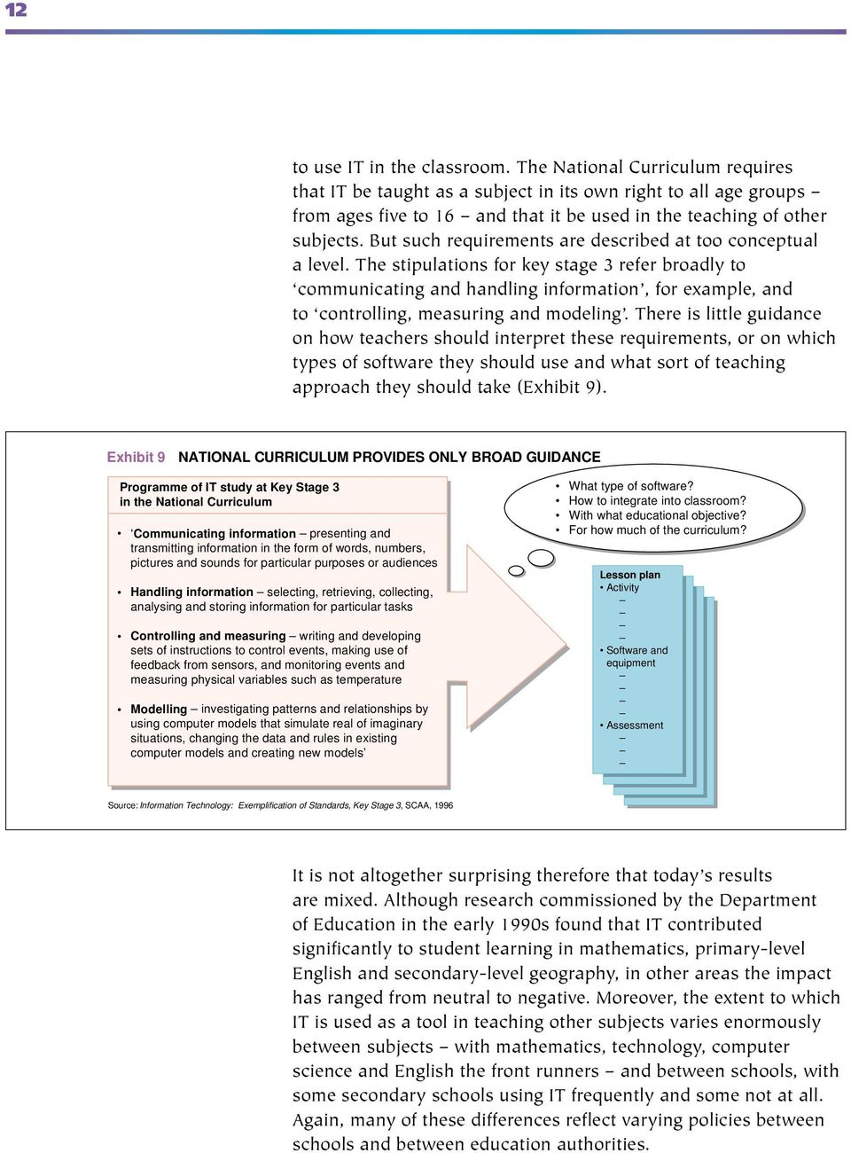 But such requirements are described at too conceptual a level.