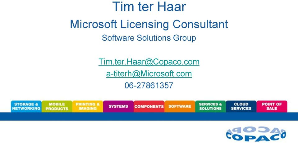 Solutions Group Tim.ter.