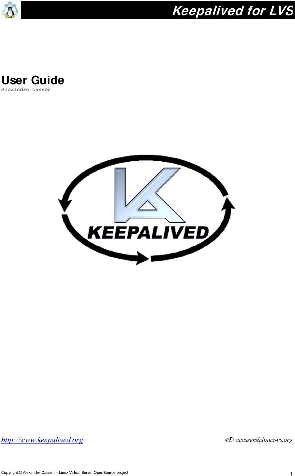 http://www.keepalived.