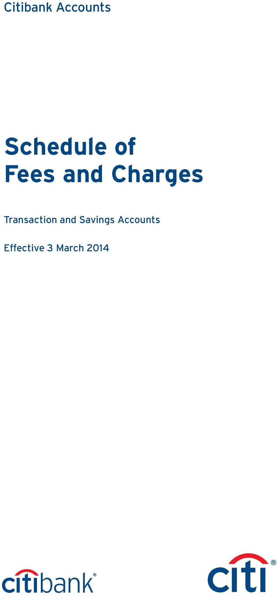 Charges Transaction and