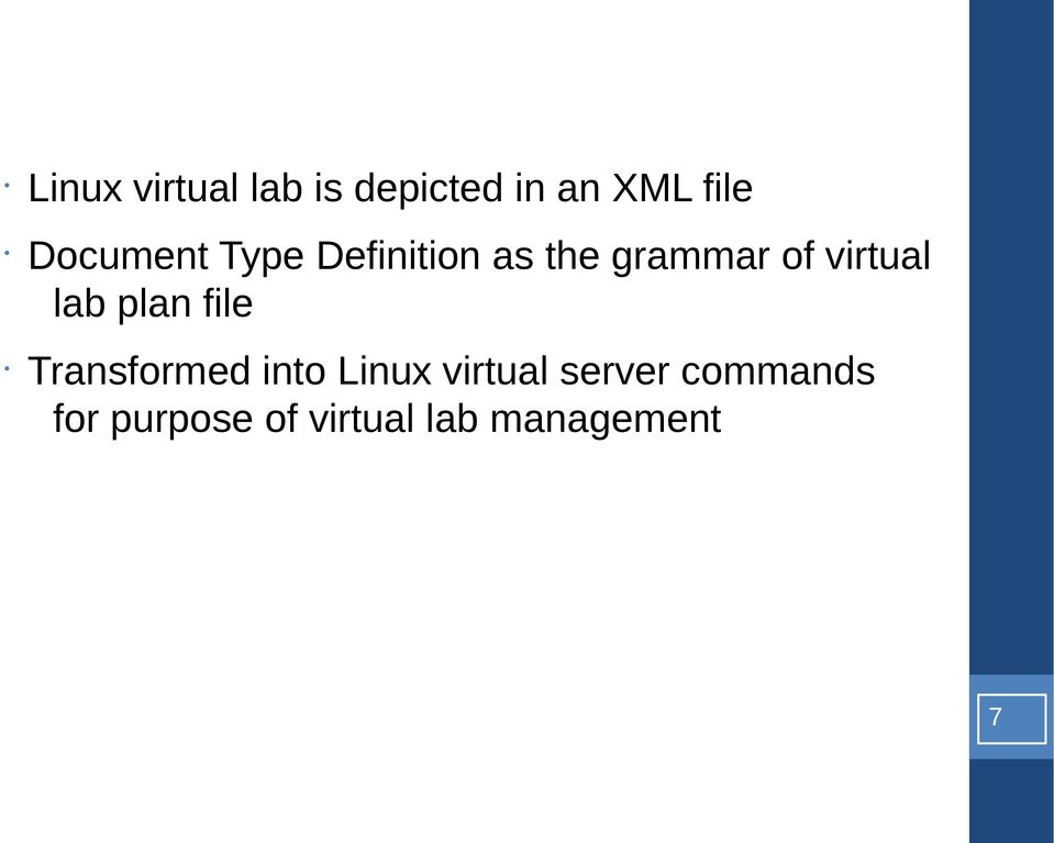 virtual lab plan file Transfrmed int Linux