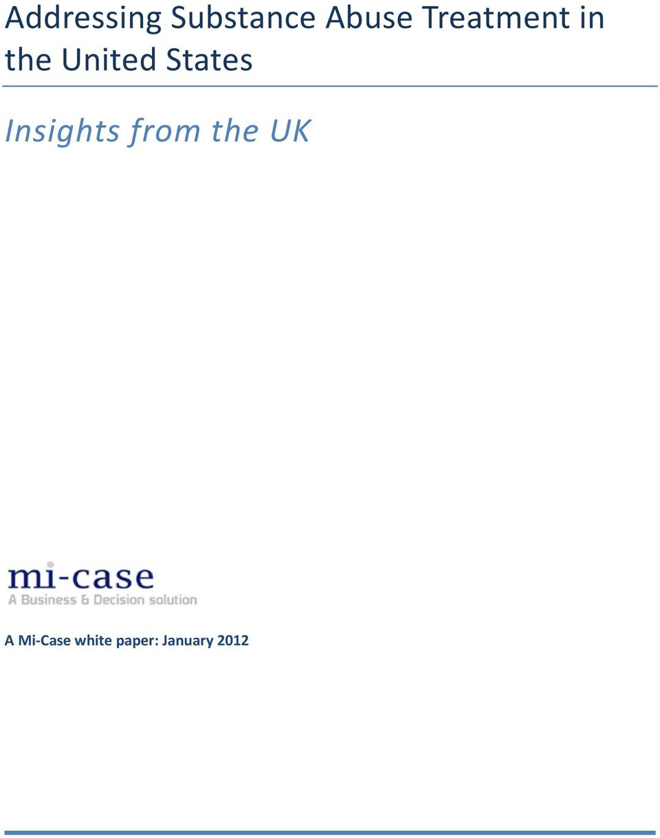 States Insights from the UK