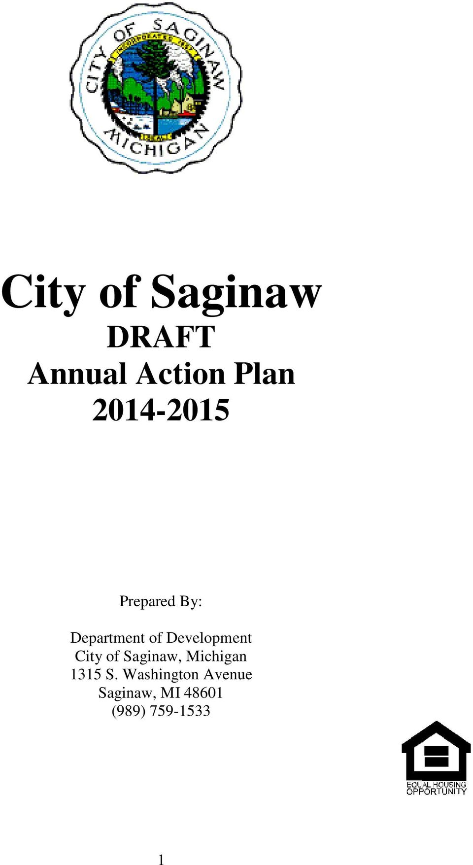 Development City of Saginaw, Michigan 1315