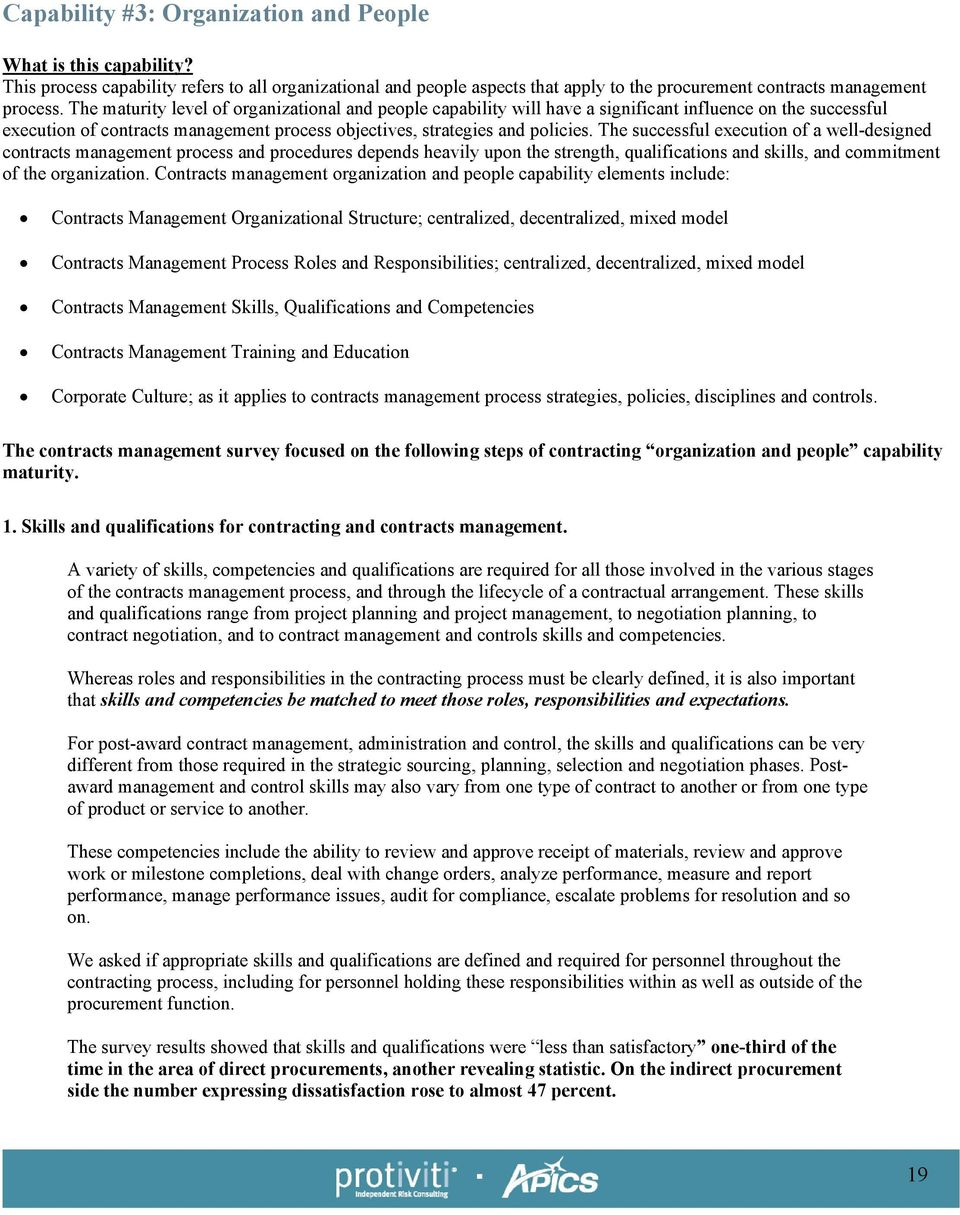 Procurement Contract Risk Management. An extensive and revealing ...