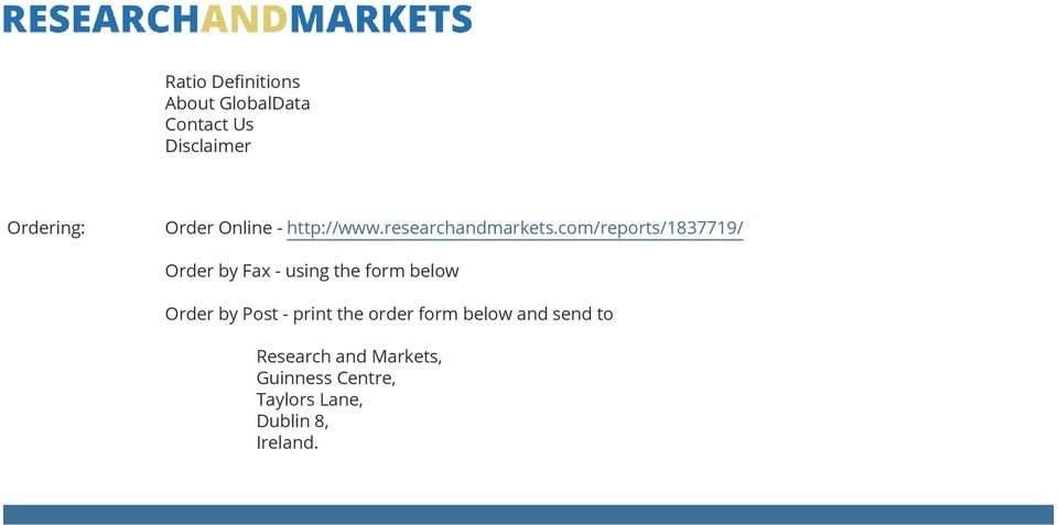 com/reports/1837719/ Order by Fax - using the form below Order by Post