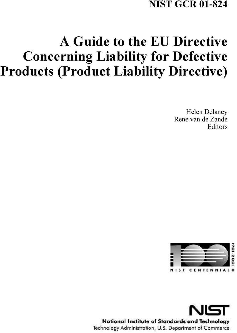 Defective Products (Product Liability