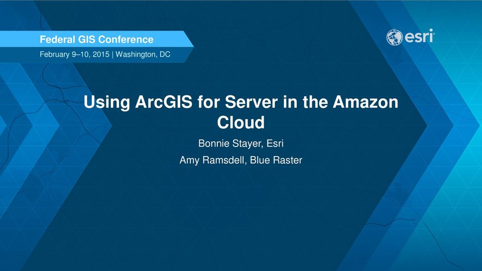 for Server in the Amazon Cloud