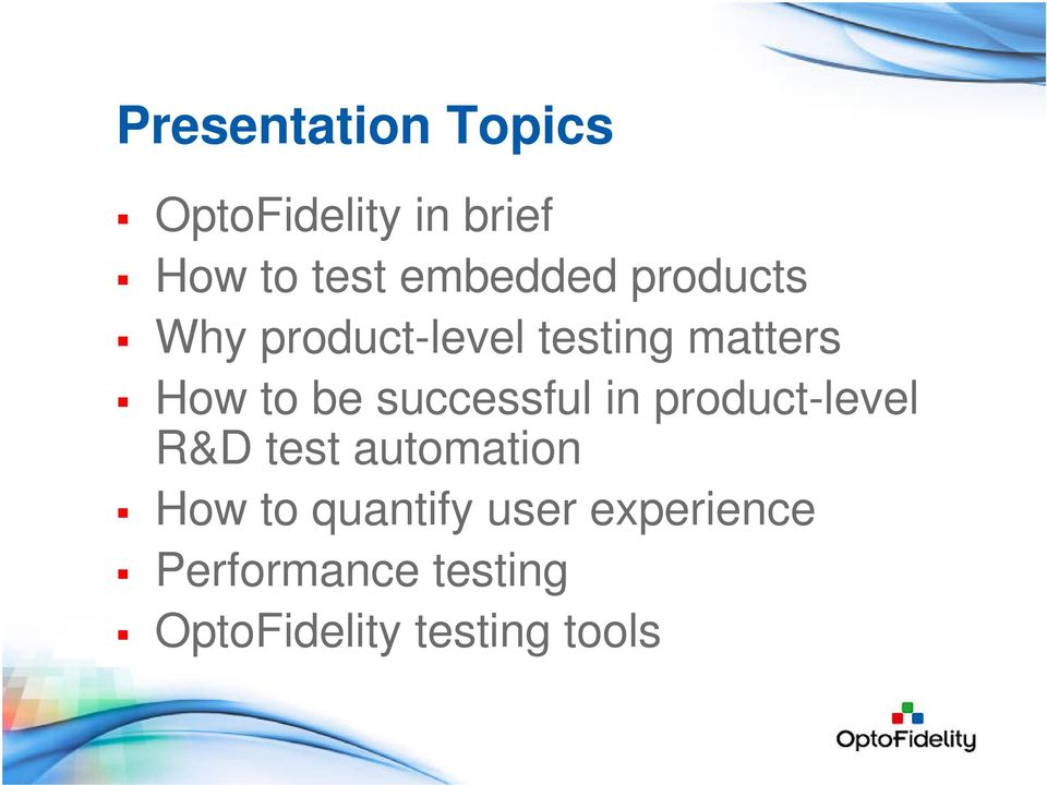 be successful in product-level R&D test automation How to