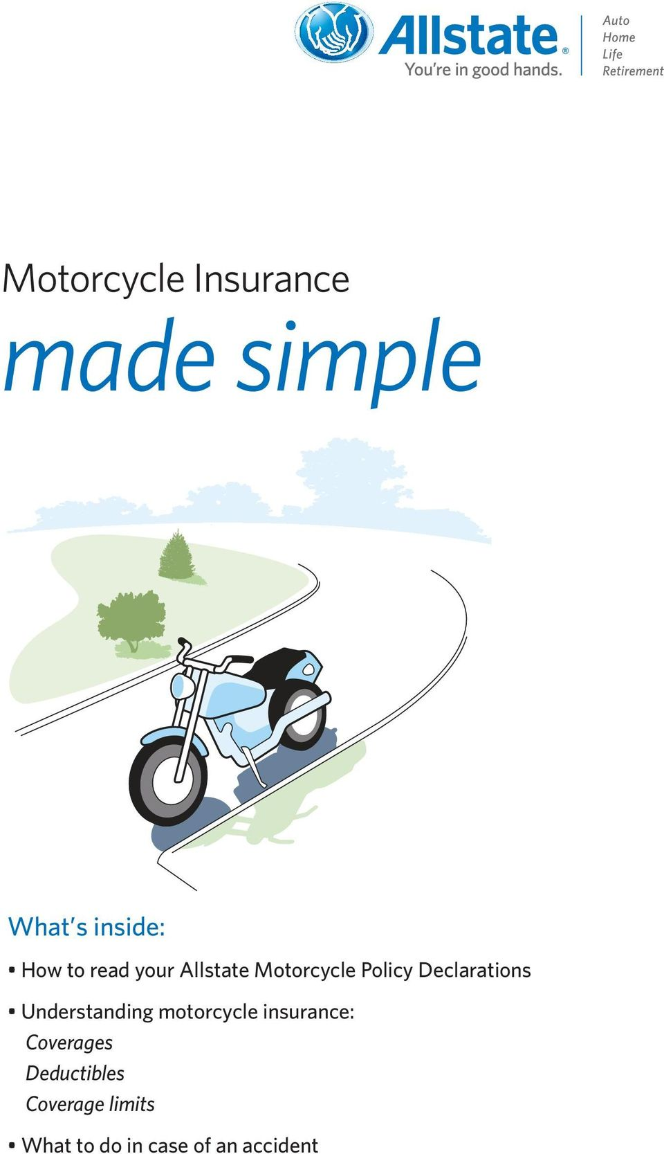 Understanding motorcycle insurance: Coverages