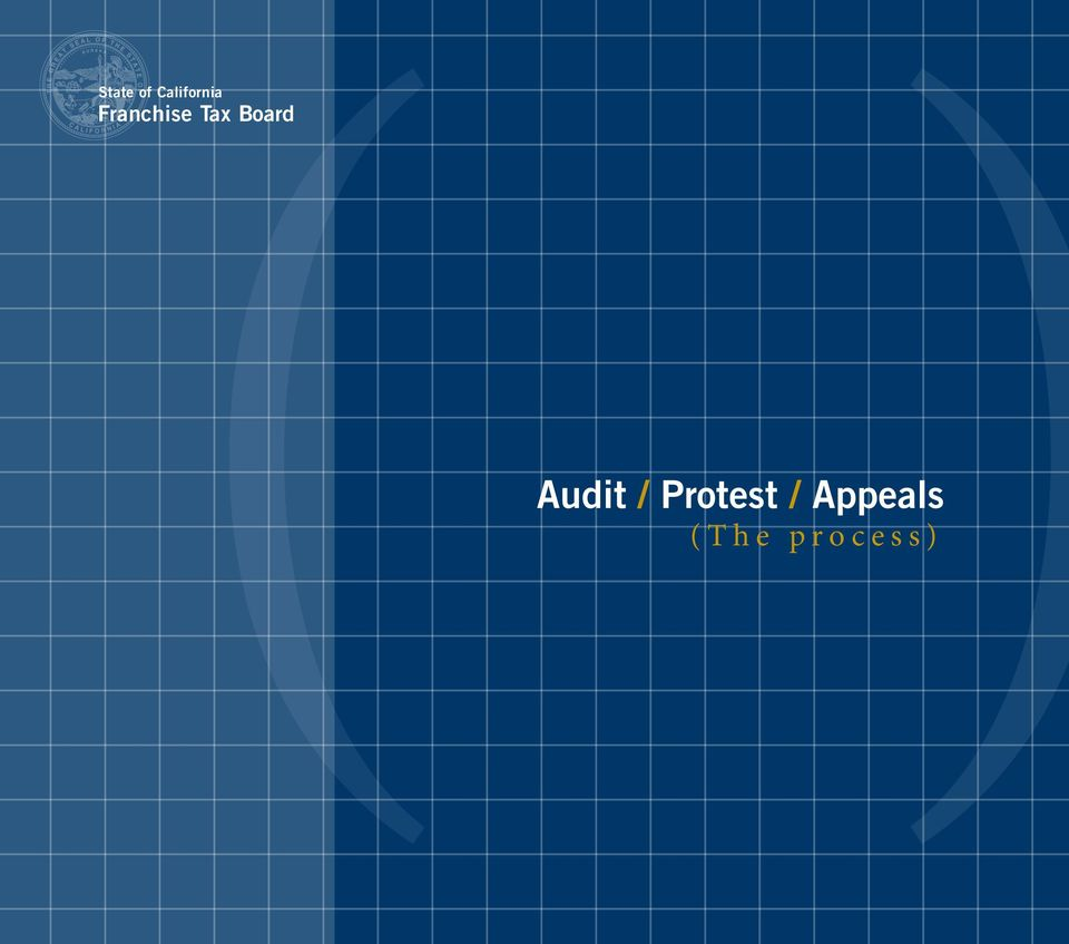 Audit / Protest /