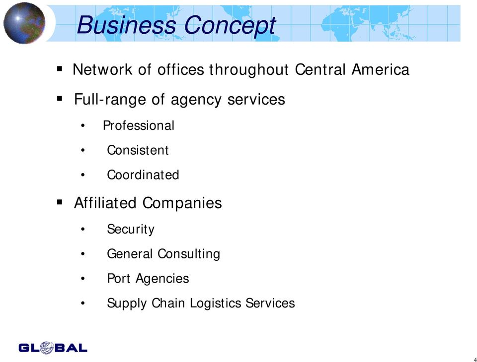 Consistent Coordinated Affiliated Companies Security