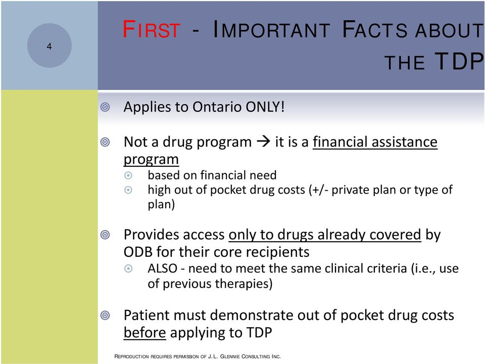 (+/ private plan or type of plan) Provides access only to drugs already covered by ODB for their core