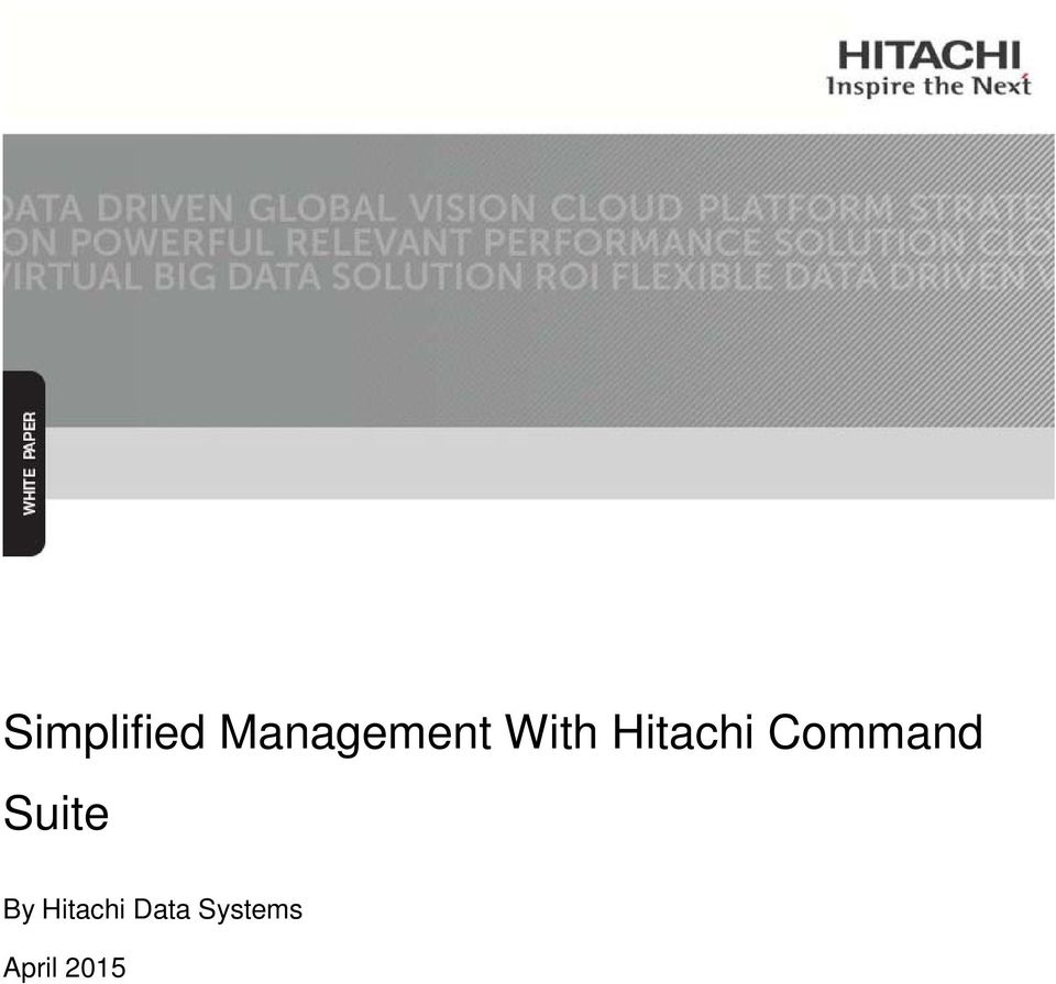Hitachi Command