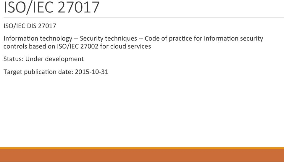 security controls based on ISO/IEC 27002 for cloud