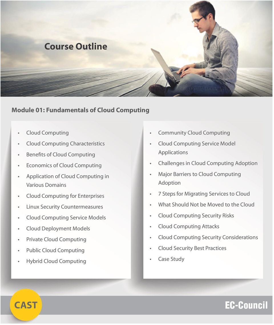 Computing Hybrid Cloud Computing Community Cloud Computing Cloud Computing Service Model Applications Challenges in Cloud Computing Adoption Major Barriers to Cloud Computing Adoption 7 Steps
