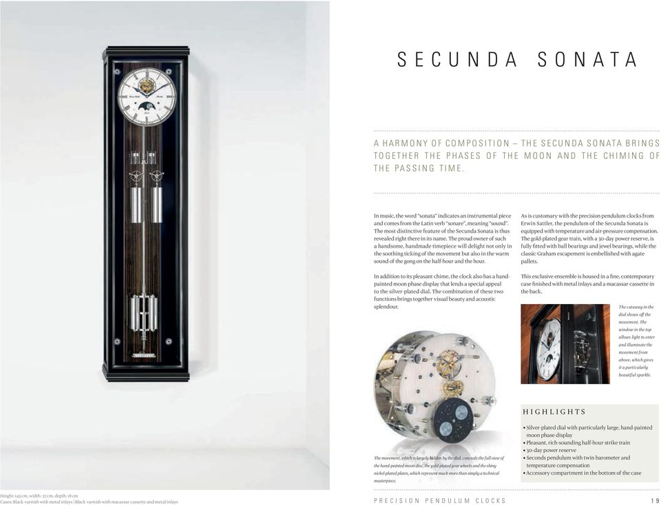 The most distinctive feature of the Secunda Sonata is thus revealed right there in its name.