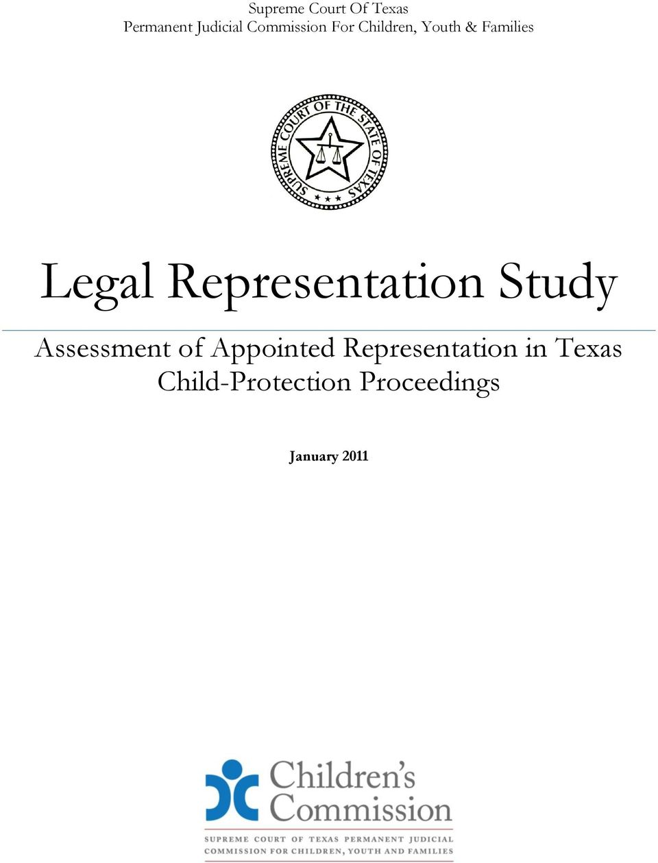 Representation Study Assessment of Appointed