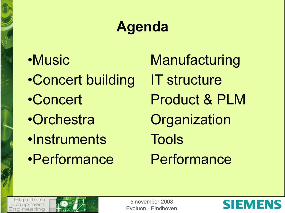Performance Manufacturing IT