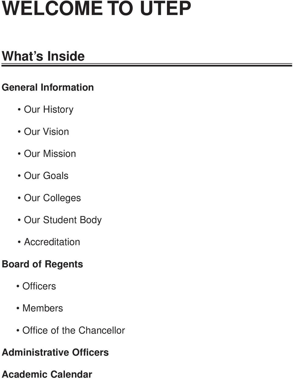 Student Body Accreditation Board of Regents Officers