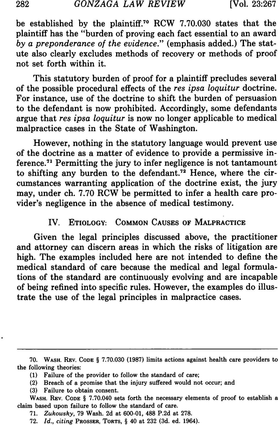 ) The statute also clearly excludes methods of recovery or methods of proof not set forth within it.
