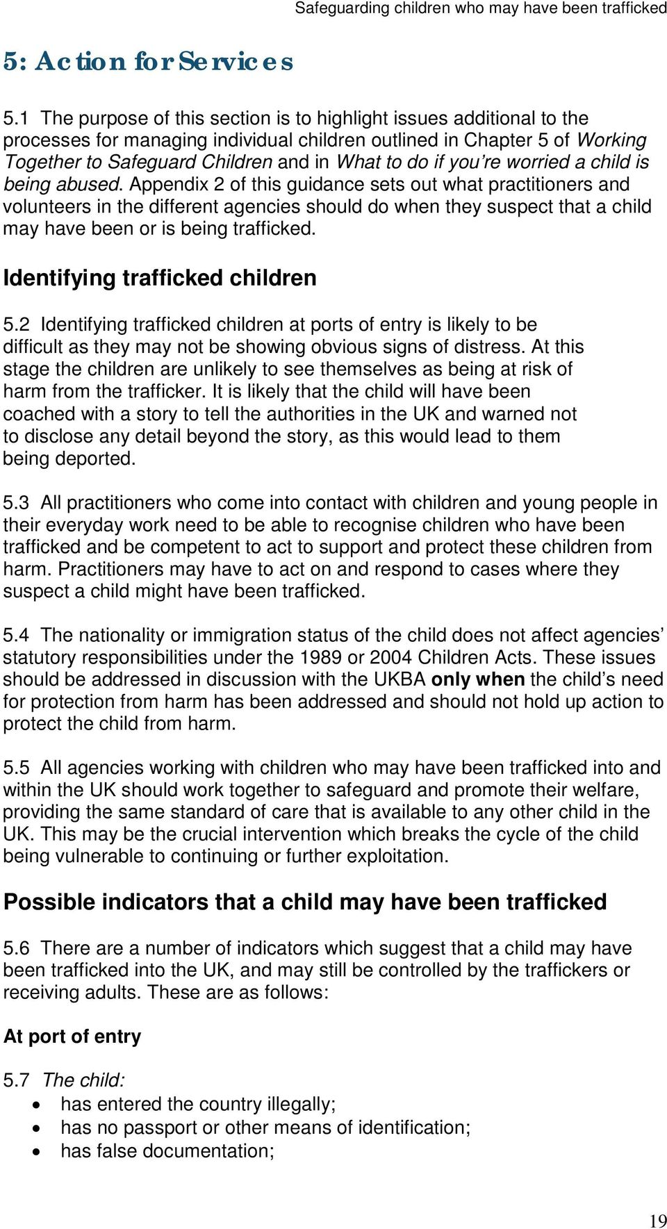 you re worried a child is being abused.