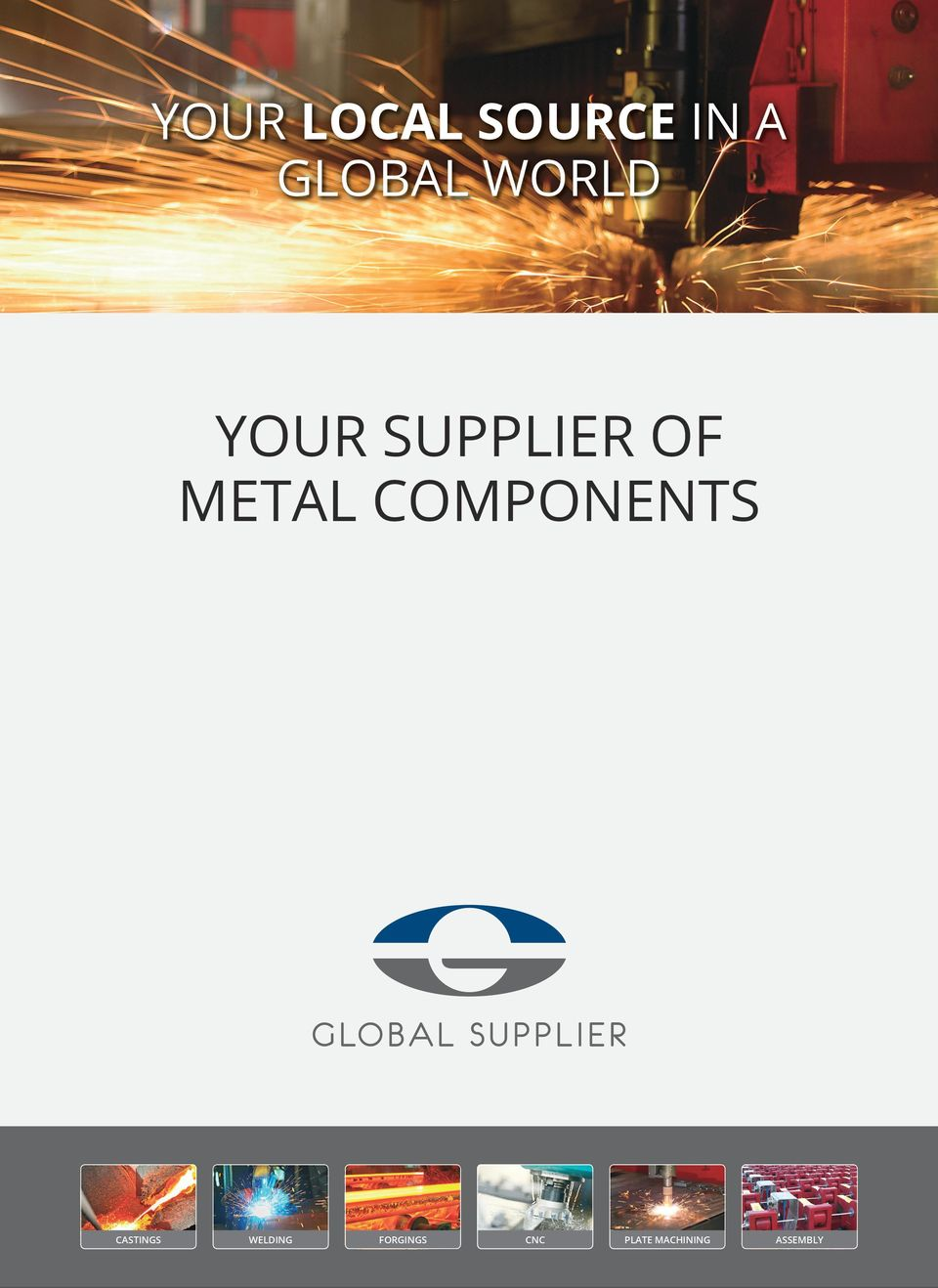 OF METAL COMPONENTS CASTINGS