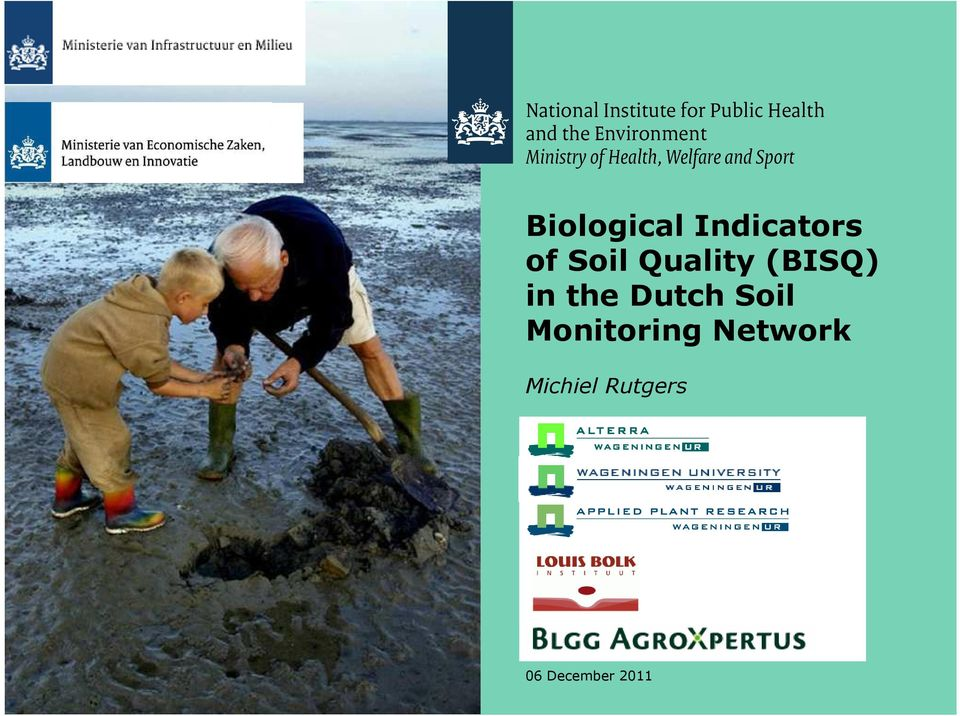 Dutch Soil Monitoring